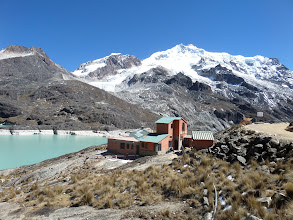 Photo: Huayna Potosi vom Zongo Pass