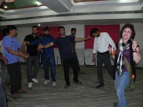Photo: Romi taught us a few Bhangra steps