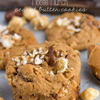 Moose Munch Peanut Butter Cookies {visiting harry & david}