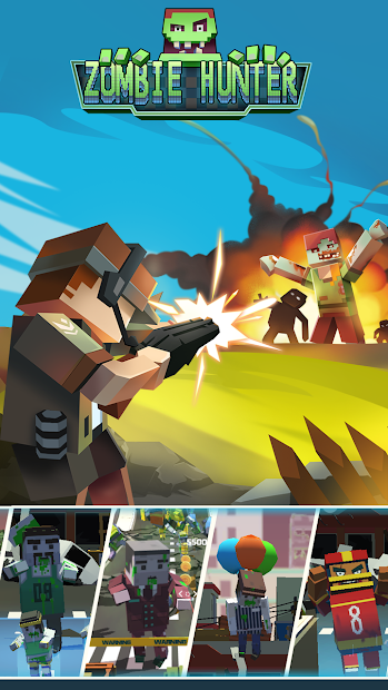 Zombie Attack: Survive & Shoot 1000 Zombie Troops Android App Screenshot
