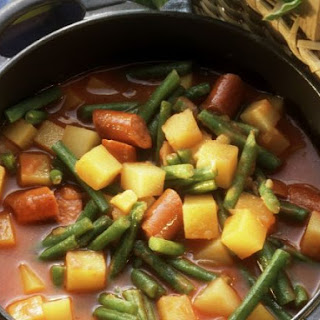 Green Bean and Sausage Stew