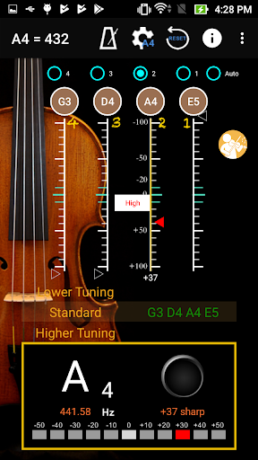 ViolinTuner - Tuner for Violin 3.3 screenshots 5