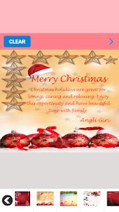 christmas postcard maker