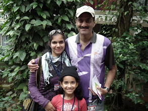 Photo: Pretty picture of some lovely people - Latha, Malvika and Sandesh
