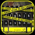 Crime Scene Keyboard Theme icon