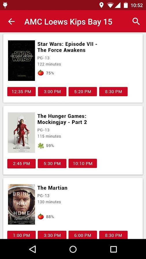 MoviePass- screenshot