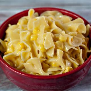 Slow Cooker Corn-Noodle Casserole