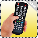 Remote Control Tv Simulated icon