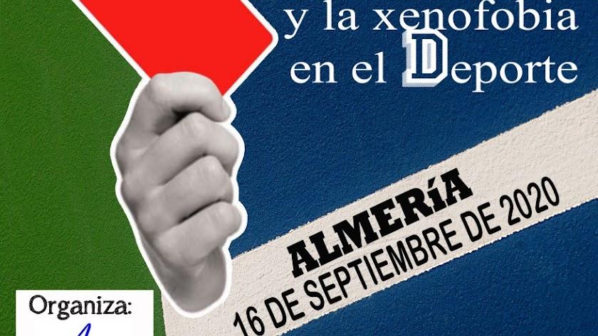 Cartel de foro que tendrá lugar en Almería.