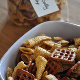 Sweet and Salty Chex Mix.