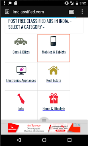 Classifieds Portal India 1.1 screenshots 3
