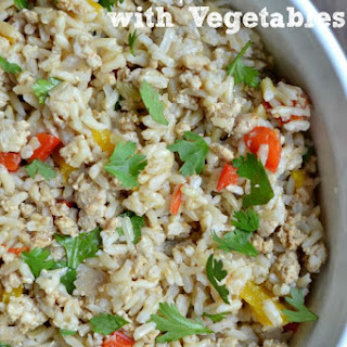 Dirty Brown Rice with Veggies
