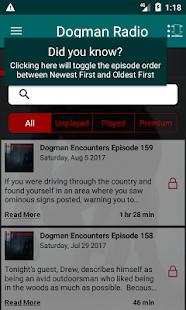 Dogman Encounters Radio - náhled