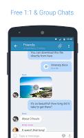 screenshot of KingsChat