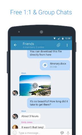 KingsChat Screenshot