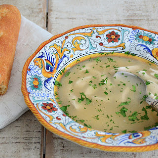 Fragrant Lebanese Chicken Soup.