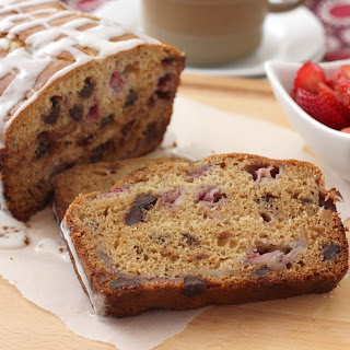Strawberry Dark Chocolate Graham Bread.