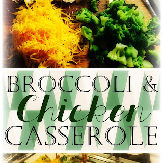 Broccoli & Chicken Casserole