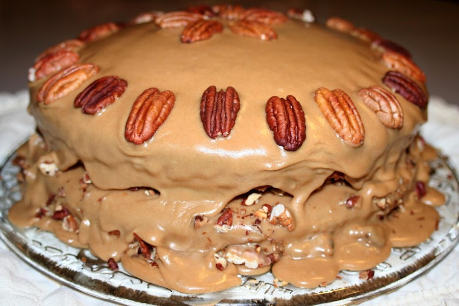 Praline Cake Recipe Just A Pinch Recipes