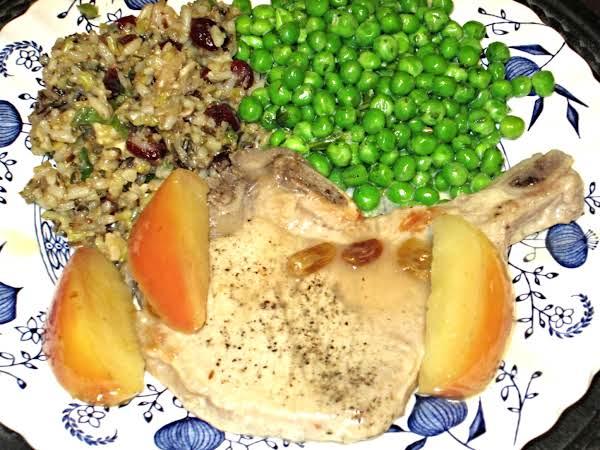 Peas In Tarragon Cream Sauce