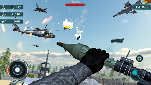 Sky war fighter jet: Airplane shooting Games 1.3 de.gamequotes.net 5