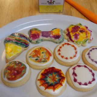 Tie Dye Cookies Recipe