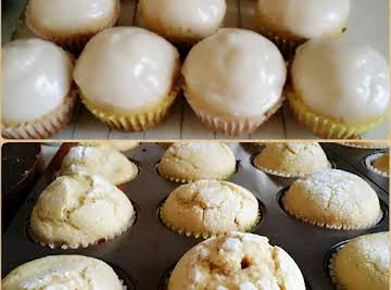 Glazed Doughnut-Muffins.....Bebita