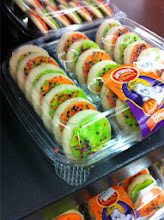 Photo: The bakery section has also been hard at work. I love these soft sugar cookies they bake for all the holidays.