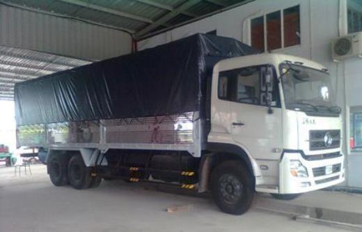 xe tải Dongfeng màu trắng