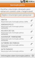 Screenshot of Copel Mobile