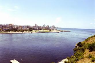 Photo: #023-La Havane-Vue de la forteresse San Carlos de la Cabana
