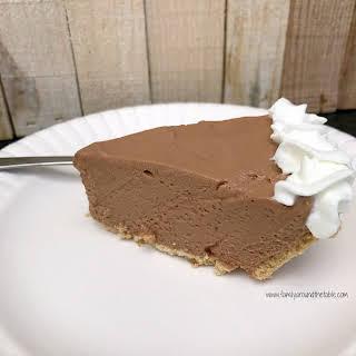 Hershey Bar Pie.