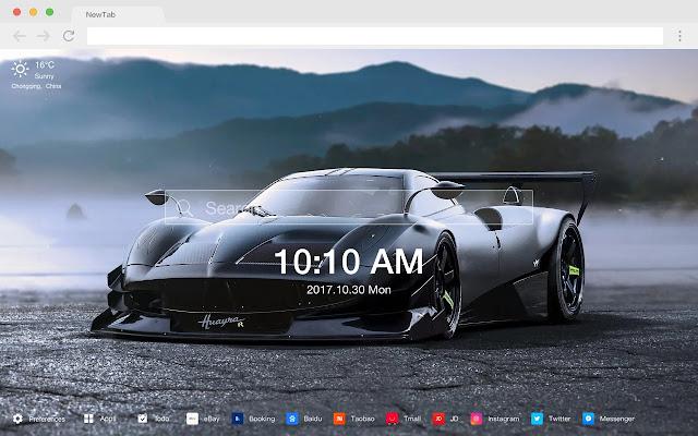 帕加尼Huayra 熱門壁紙 高清跑車 新標籤頁 主題
