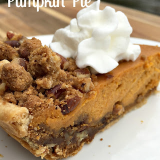 Gingersnap and Pecan Layered Pumpkin Pie.