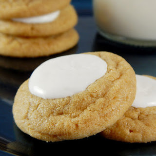 Peanut Butter and Fluff Cookies
