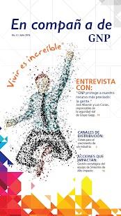 Revista en compañía de GNP - náhled