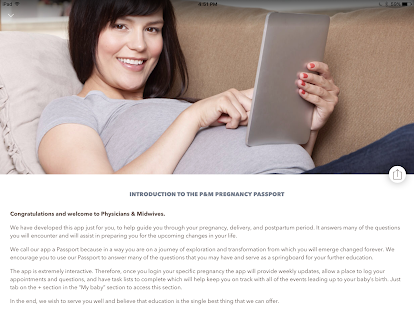 Pregnancy Passport from P&M- screenshot thumbnail