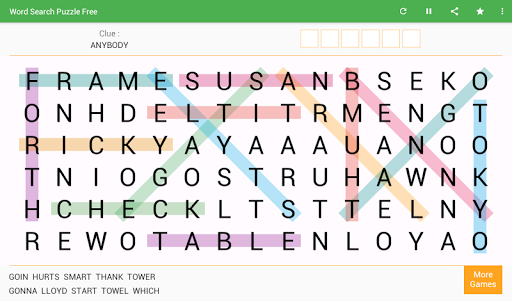 Word Search - Free Word Game 8.0 screenshots 7