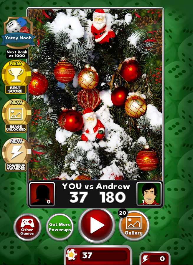 Yatzy: Deck the Halls- screenshot
