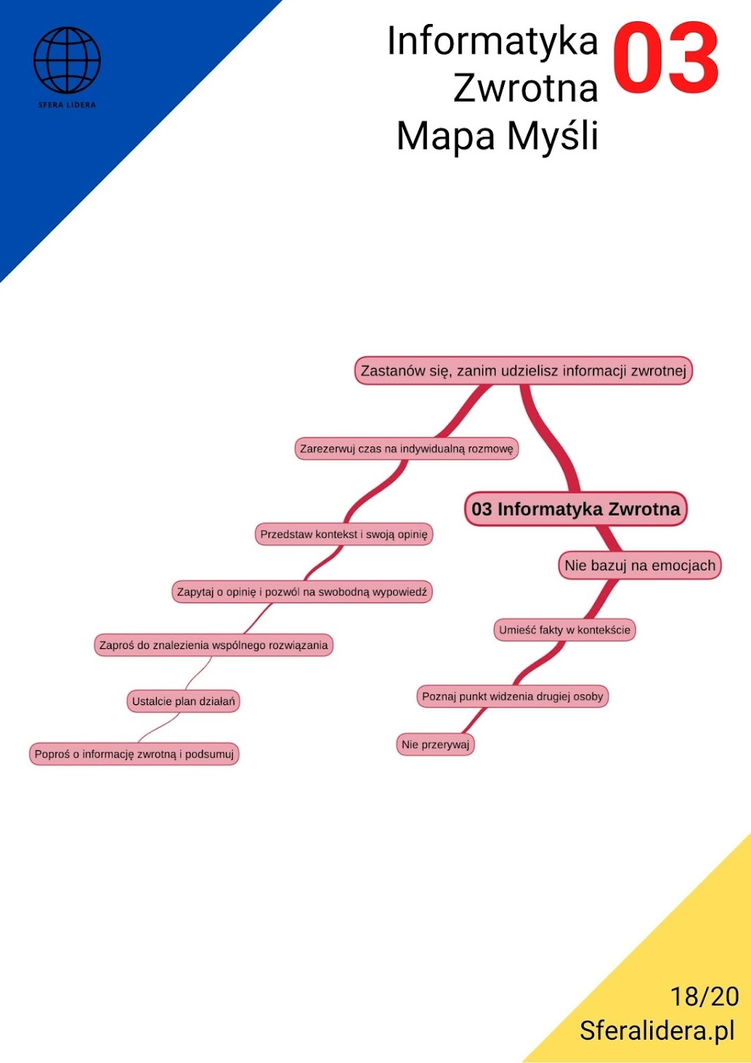 Informatyka zwrotna mapa