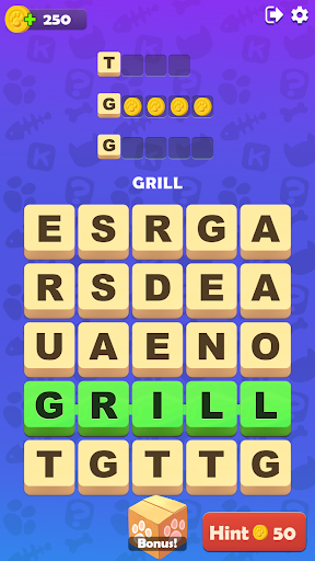 Kitty Scramble: Word Finding Game  screenshots 8