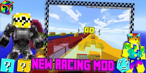Lucky Craft Mods: Lucky Block Race Mod For MCPE 3 16