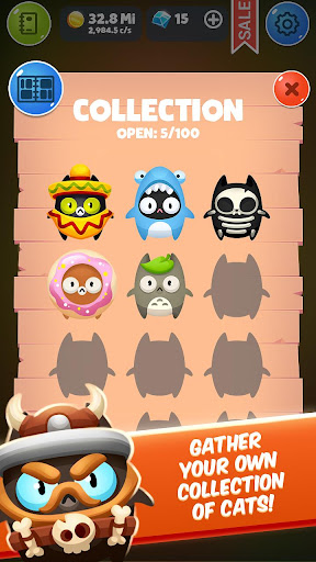 Code Triche Chat u00c9volution Clicker APK MOD screenshots 4