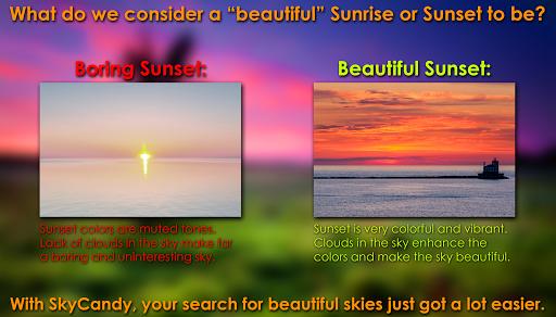 SkyCandy - Sunset Forecast App screenshots 2