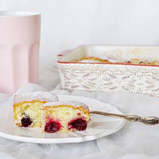 My Favorite Sour Cherry Cake.