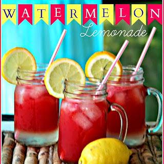 Refreshing Watermelon Lemonade! Recipe