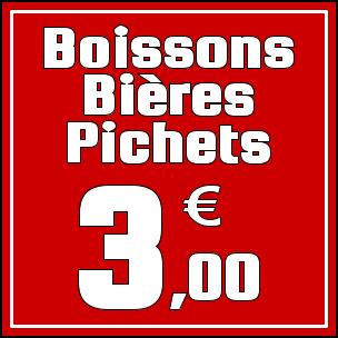 Prix Boissons