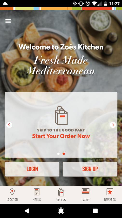Zoës Kitchen - Aplicaciones Android en Google Play