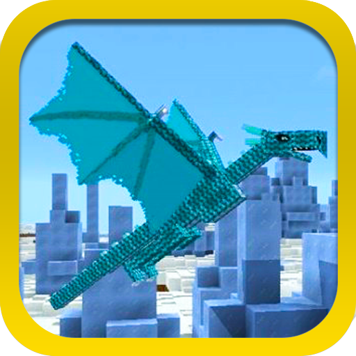 Dragons mod for Minecraft.