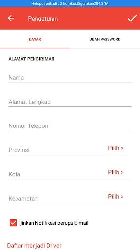 ONTIME ( Transportasi Online) screenshot 1